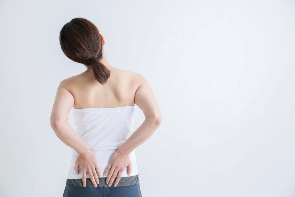 腰痛の緩和